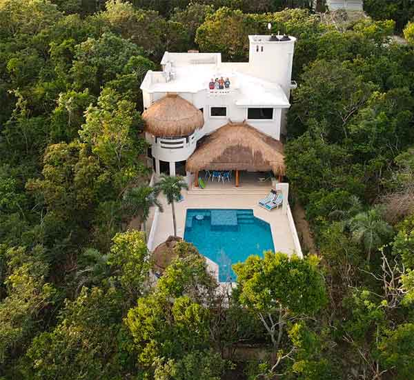 Casa La Via is located in Akumal Mexico